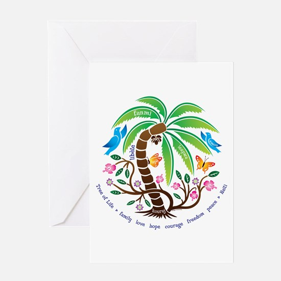 Greeting Card/Tree of Life/Tropical