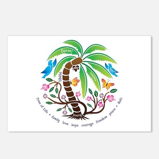Postcards (Pkg. of 8)/Tree of Life/Tropical