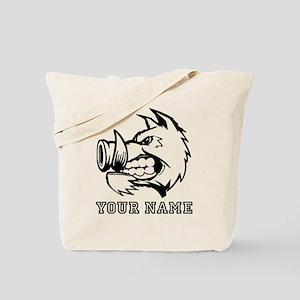 Razorback Boar (Custom) Tote Bag