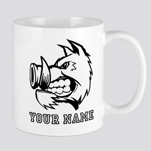 Razorback Boar (Custom) Mugs