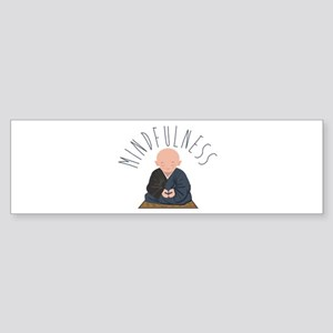 Meditation Mindfulness Bumper Sticker