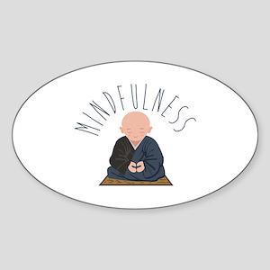 Meditation Mindfulness Sticker