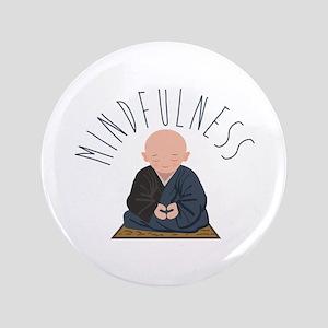 Meditation Mindfulness Button