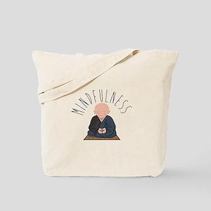 Meditation Mindfulness Tote Bag