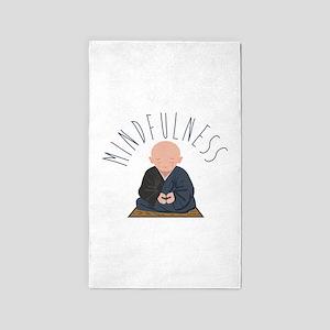 Meditation Mindfulness Area Rug