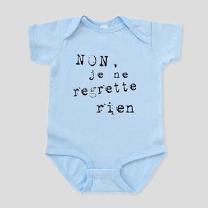 Je Ne Regrette Rien Infant Bodysuit
