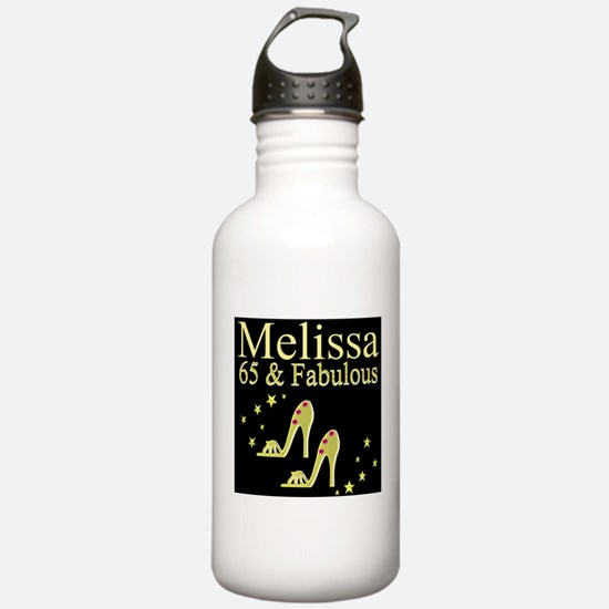 DAZZLING 65TH Water Bottle