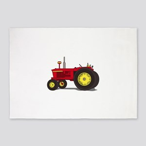 Classic tractor 5'x7'Area Rug