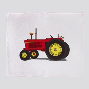 Classic tractor Throw Blanket