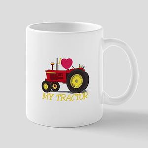 I Love My Tractor Mugs