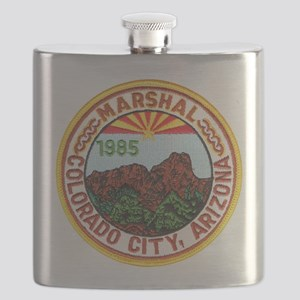 Colorado City Marshal Flask