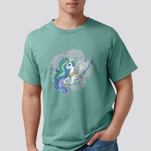 My Little Pony Celestia Mens Comfort Colors Shirt