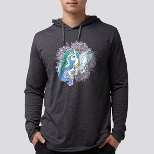 My Little Pony Celestia Mens Hooded Shirt