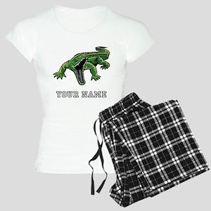 Mean Alligator (Custom) Pajamas