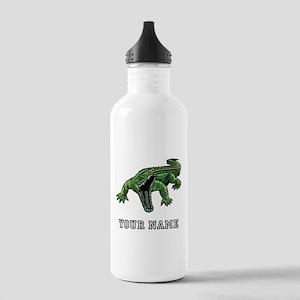 Mean Alligator (Custom) Water Bottle
