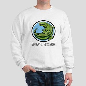 Green Alligator (Custom) Sweatshirt
