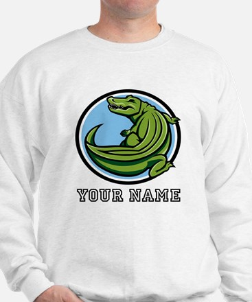 Green Alligator (Custom) Sweatshirt