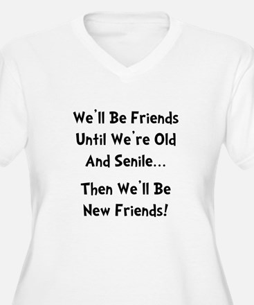 New Friends Plus Size T-Shirt