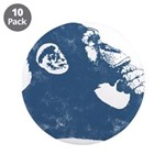 """A Thoughtful Monkey 2 3.5"""" Button (10 Pack)"""