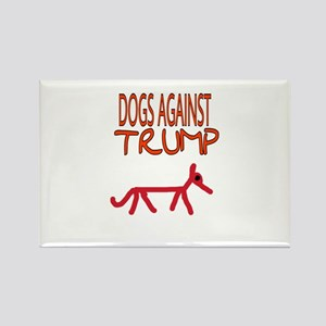 DOGS AGAINST TRUMP Magnets