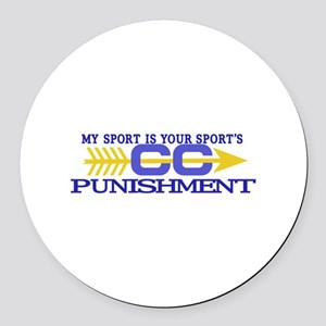 My Sport/Punishment Round Car Magnet