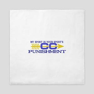 My Sport/Punishment Queen Duvet