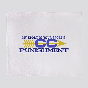 My Sport/Punishment Throw Blanket