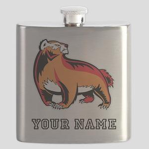 Honey Badger (Custom) Flask
