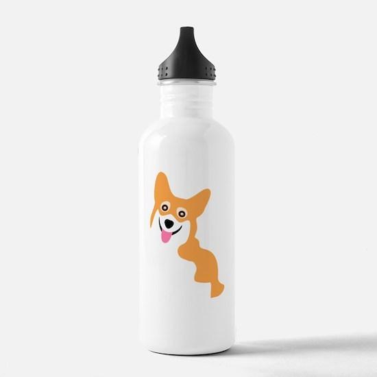 Cute I love my poodle Water Bottle