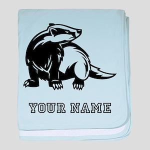 Honey Badger (Custom) baby blanket