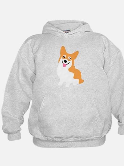 Cute Corgi Dog Hoodie