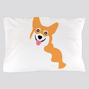 Cute Corgi Dog Pillow Case