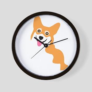 Cute Corgi Dog Wall Clock