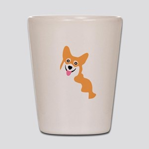 Cute Corgi Dog Shot Glass