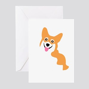 Cute Corgi Dog Greeting Cards