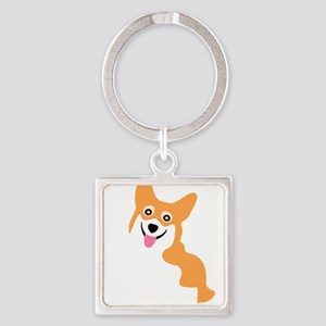 Cute Corgi Dog Keychains