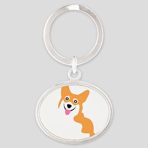 Cute Corgi Dog Keychains
