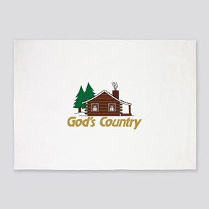 Gods Country 5'x7'Area Rug