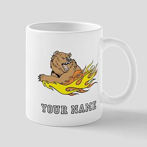 Fire Bear (Custom) Mugs
