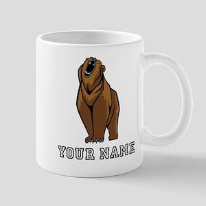 Bear Roaring (Custom) Mugs