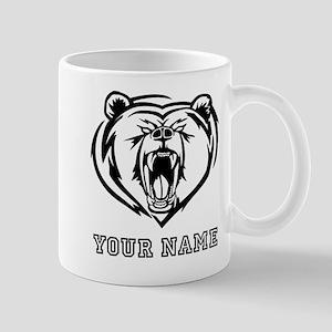 Mean Bear (Custom) Mugs