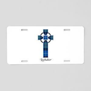 Cross - Lochaber dist. Aluminum License Plate
