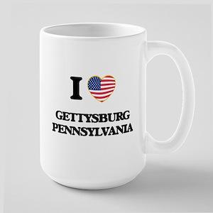 I love Gettysburg Pennsylvania Mugs