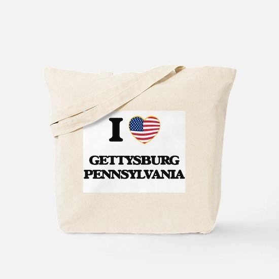 I love Gettysburg Pennsylvania Tote Bag