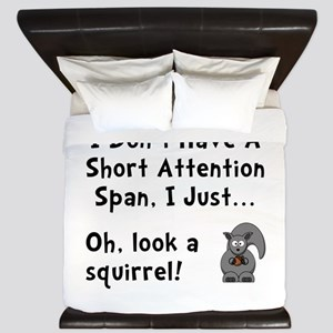 Short Attention King Duvet