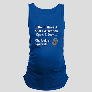 Short Attention Maternity Tank Top