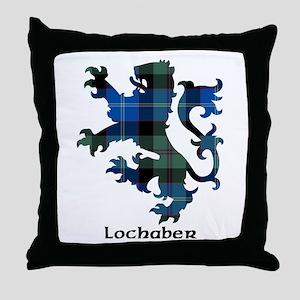 Lion - Lochaber dist. Throw Pillow