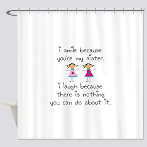 Sister Smile Shower Curtain