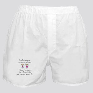 Sister Smile Boxer Shorts