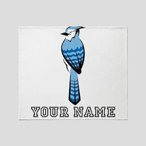 Bluejay (Custom) Throw Blanket